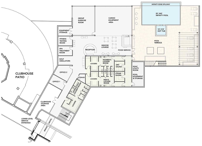 Fitness center floor plans floor plans new england for Gym blueprints